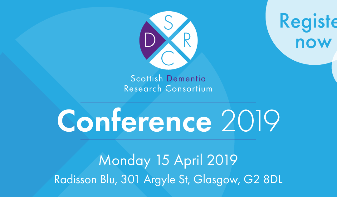 Announcement: Scottish Dementia Research Consortium Conference 2019