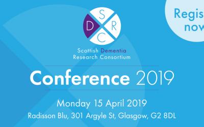 Announcement: Scottish Dementia Research Consortium Conference 2019