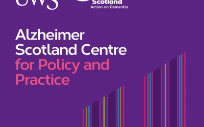 PhD Studentship with the Alzheimer Scotland Centre for Policy and Practice (ASCPP) at the University of the West of Scotland, in partnership with Erskine and Alzheimer Scotland