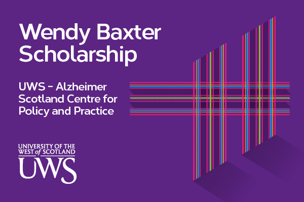 PhD Studentship: Wendy Baxter Scholarship